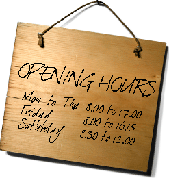 Newfields Timber Opening Hours